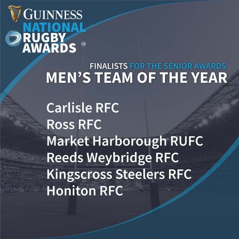 Last Chance for Tickets to the National Rugby Awards!