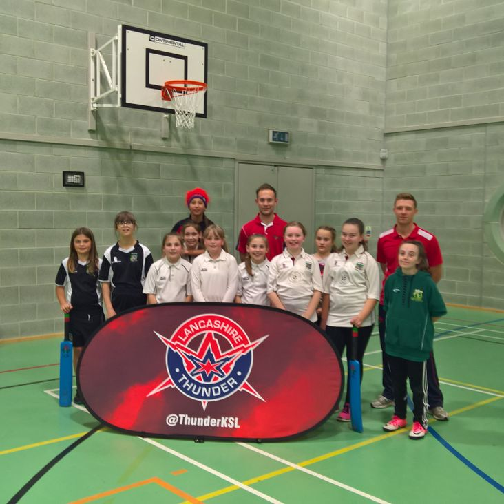 Lancashire Thunder session<
