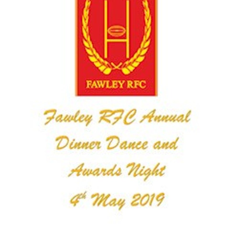 Annual Dinner Dance and Awards night
