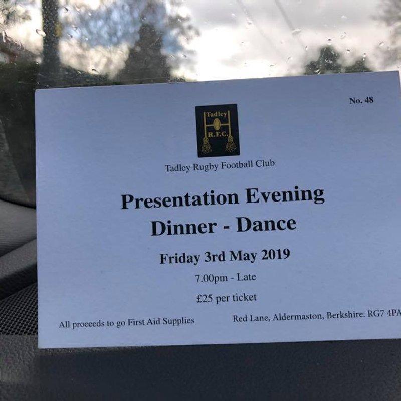 Presentation Evening - Dinner - Dance