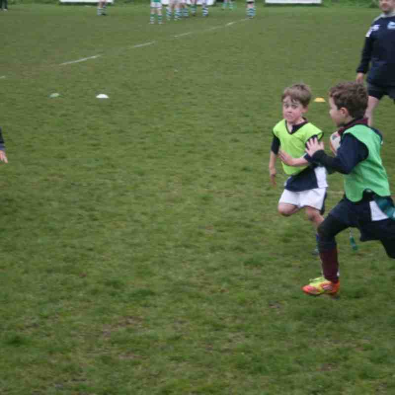 U6 learning the game 14 April