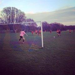 Scarisbrick Hall FC v Cream FC - 16th April 2015