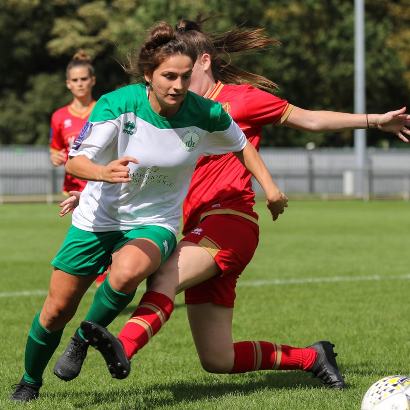 Chichester City Ladies 0 - 3 MK Dons 18-08-2019