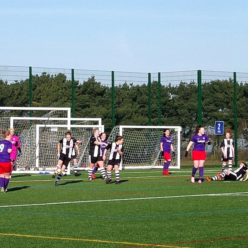 Penalty Shootout Misery For Ladies