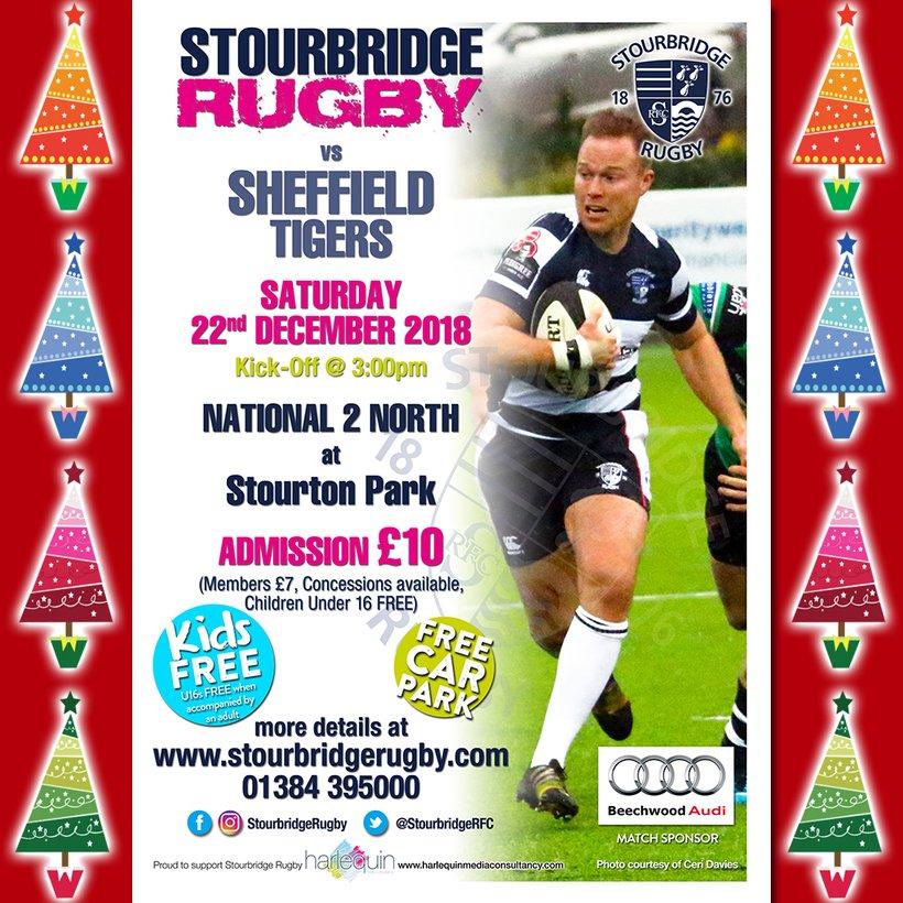 Stourbridge vs Sheffield Tigers - News - STOURBRIDGE RUGBY db81af577