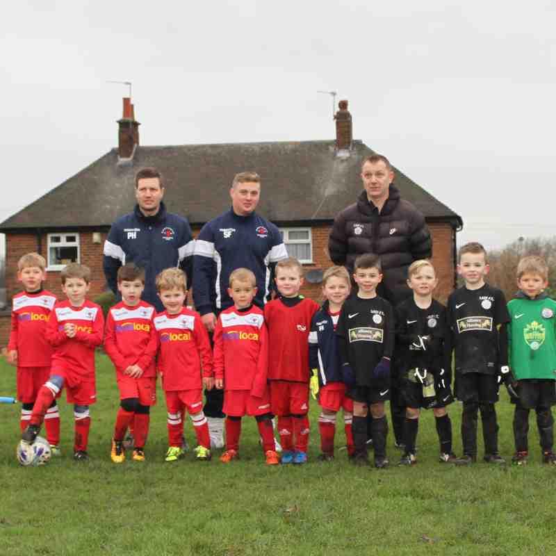 Development Squad at home to Garforth Rangers