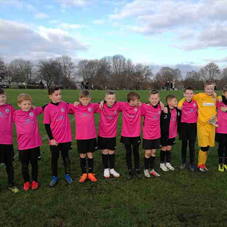 U11 Pinks move in to another semi-final