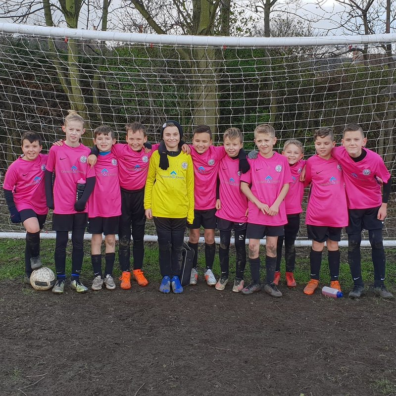 Brave U11 Whites Bow Out of the Cup