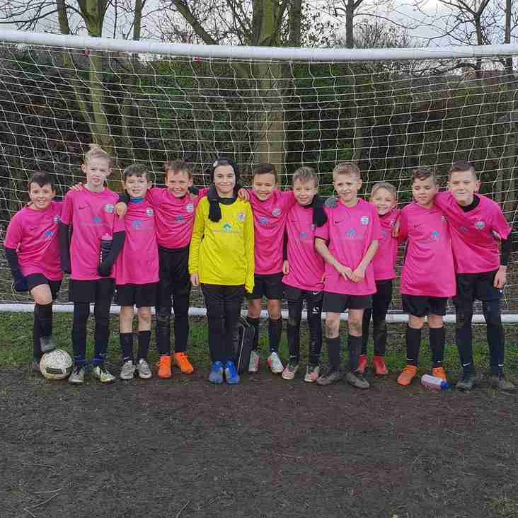 U11 Whites continue unbeaten  run!