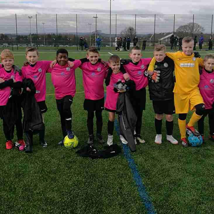 U11 Pinks visit Churwell U12's