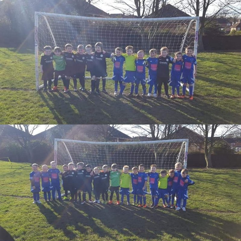Under 6's enjoy a great Development day with Robin Hood