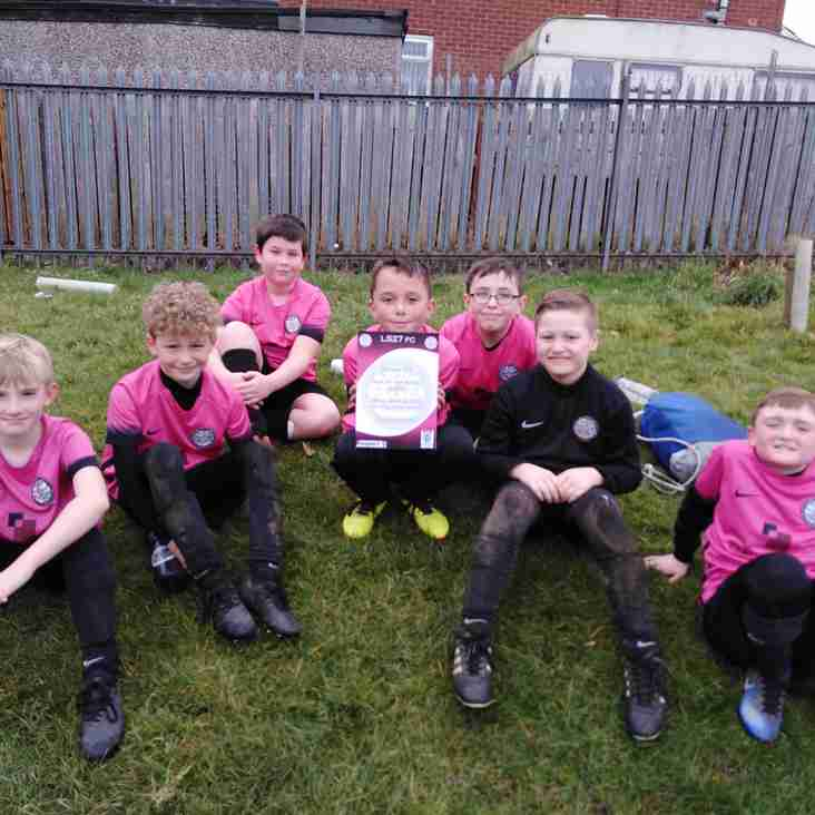 Under 10 Pinks look sharp as they entertain Horsforth St Margaret's Galaxy