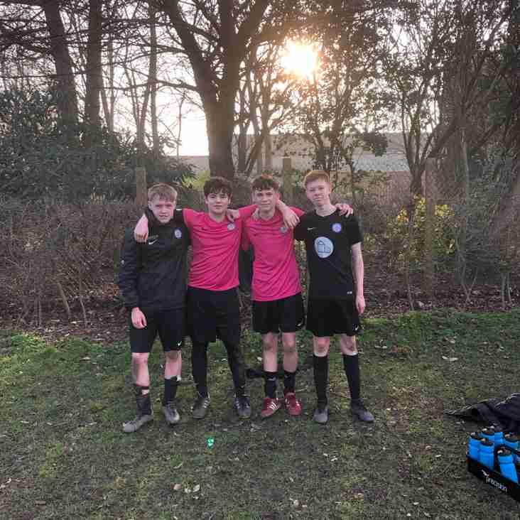U16's win 7 goal thriller