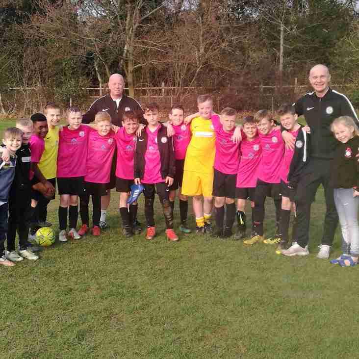 Under 11 Pinks book a second final spot of the season