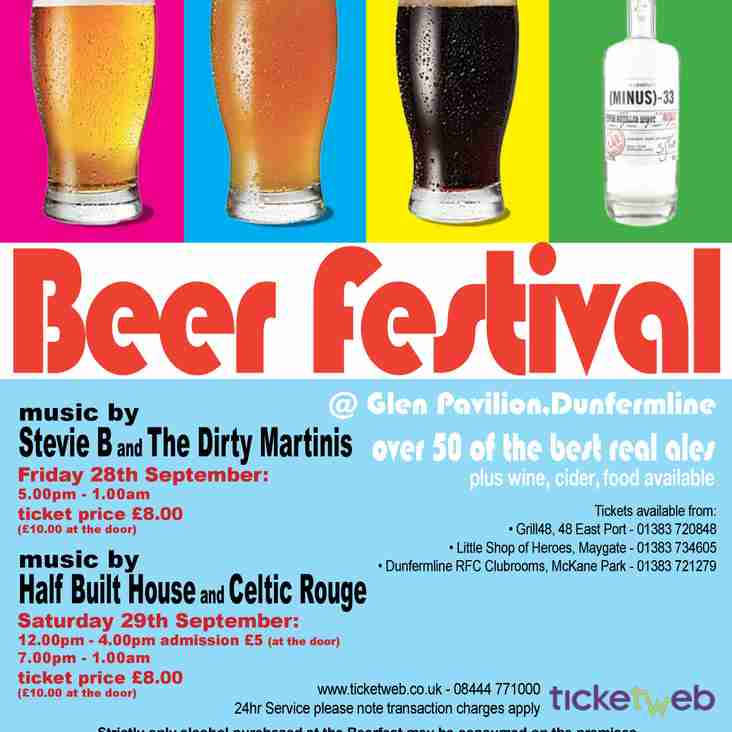 Dunfermline Annual Beer Festival