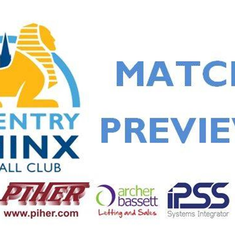 Next at Sphinx Drive - COVENTRY SPHINX v ROMULUS