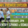 Offer for Saturday's fixture