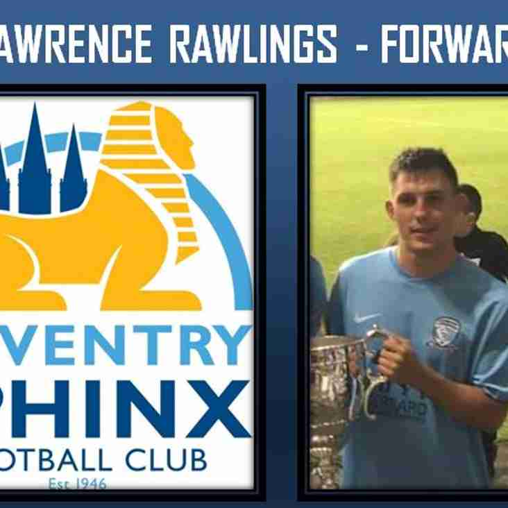 Lawrence Rawlings makes the move to Sphinx