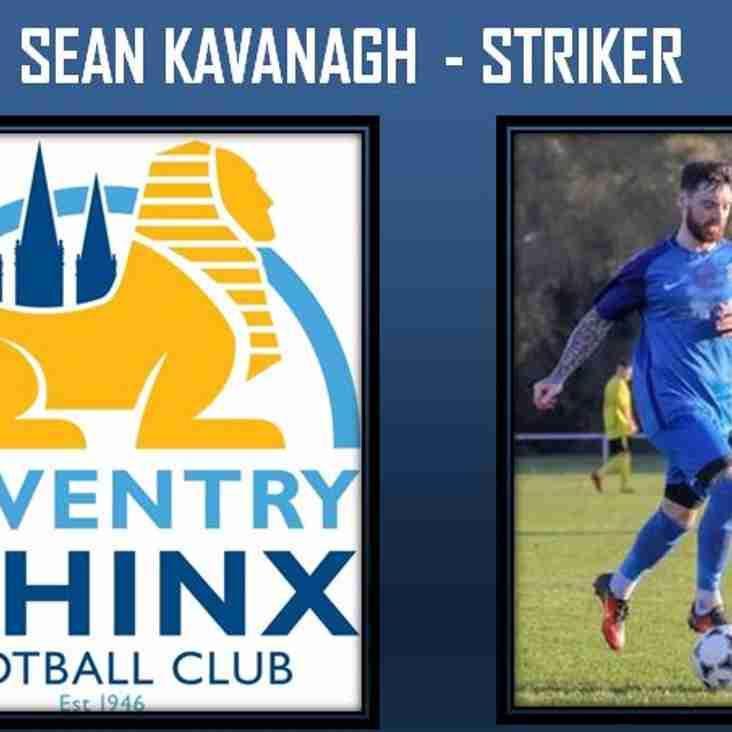 Striker Sean Kavanagh commits to Sphinx