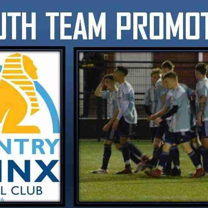 Youth Team promoted!