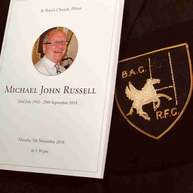 Michael John Russell  - President - BAC RFC