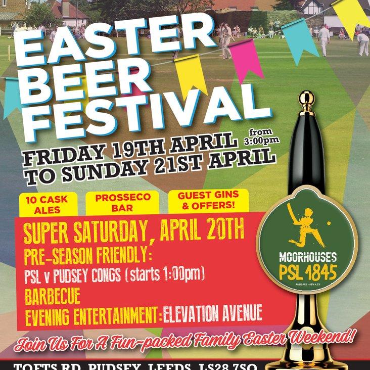 Cricket, Beer &amp; Live Music - PSL 2019 Easter Beer Festival<