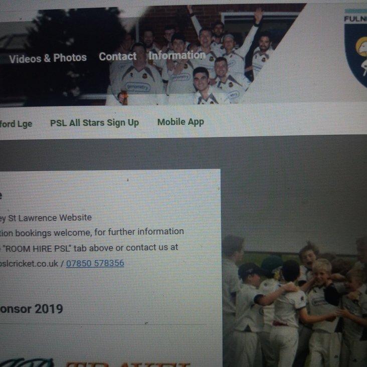 Website Make Over For The New Season<