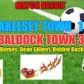 ARLESEY TOWN 1 BALDOCK TOWN 3 (HT 1-0)