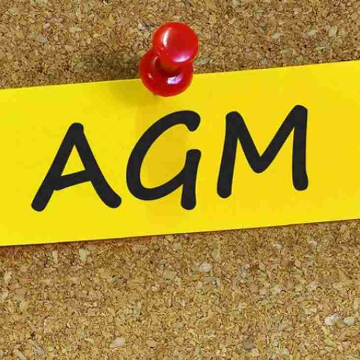 Romsey RFC AGM - Second Calling