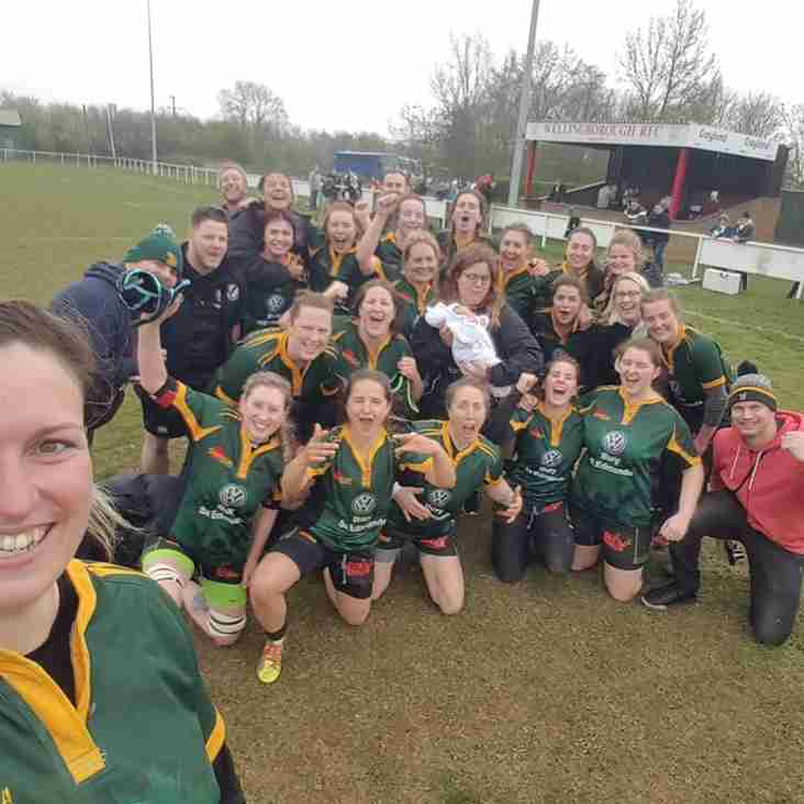 The Foxes secure promotion in a thriller ! 15-12 v Sutton Coldfield brings promotion to the 3rd tier .