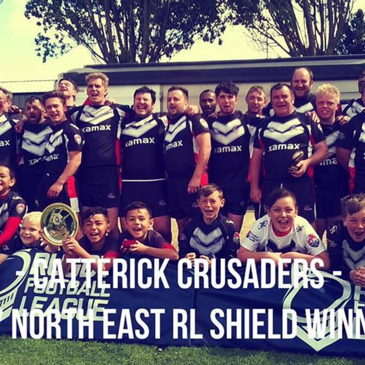 Crusaders take the Shield<