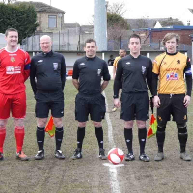 Ossett Town Vs Ossett Albion  (01/01/2013)