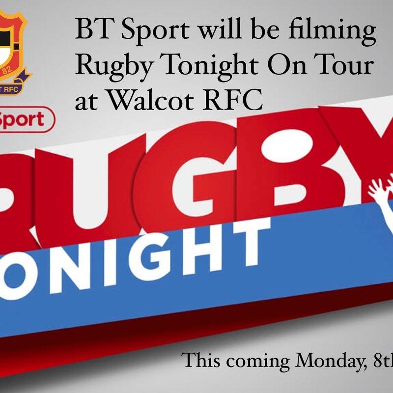 BT Sport Rugby Tonight