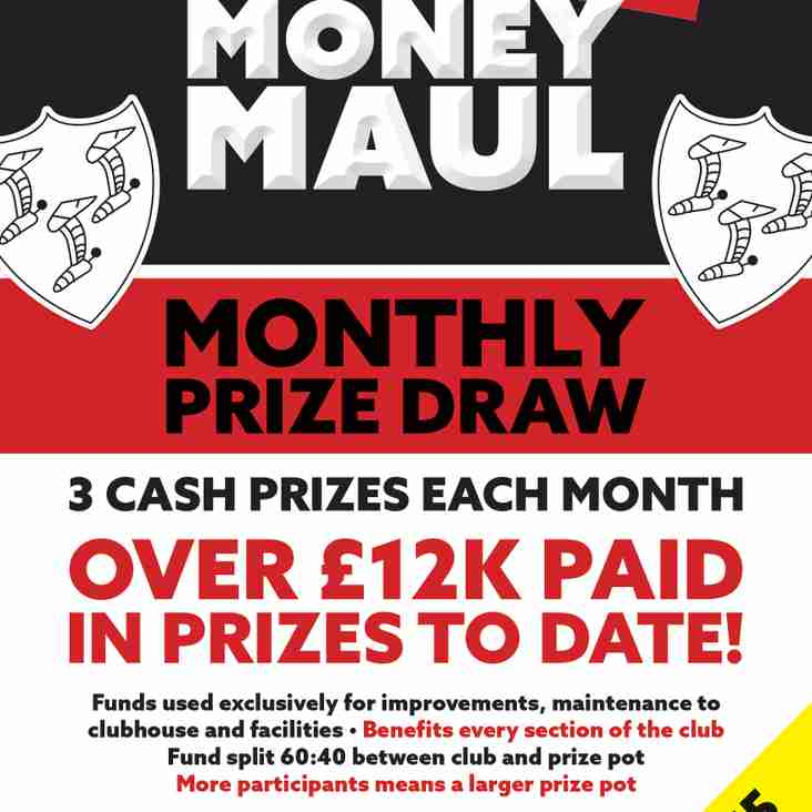 Money MAUL - May winners