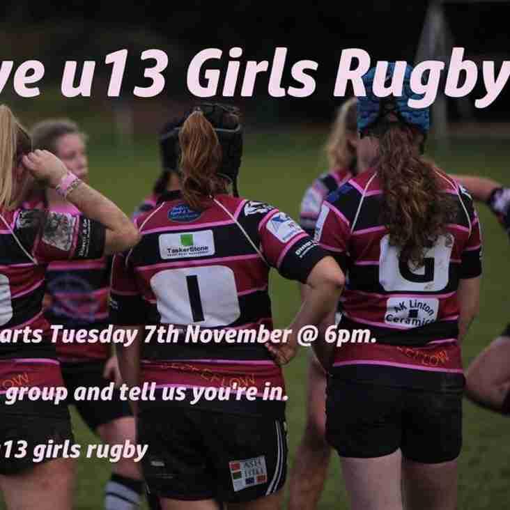 Girls Under 13 Rugby