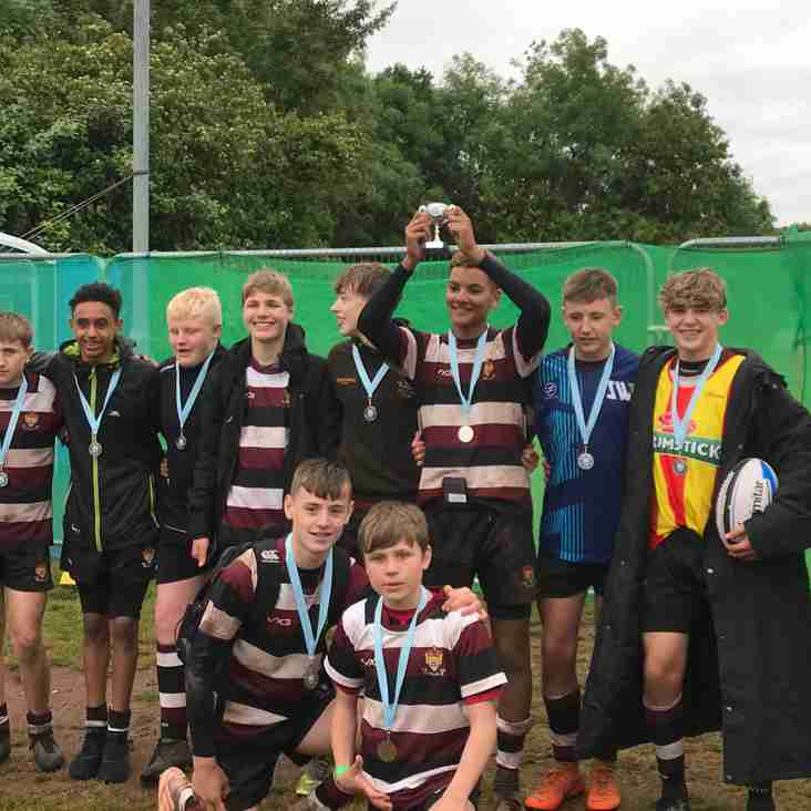 Under 14 Plate Winners at South west 7s