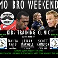 KIDS TRAINING CLINIC & VETS RUGBY