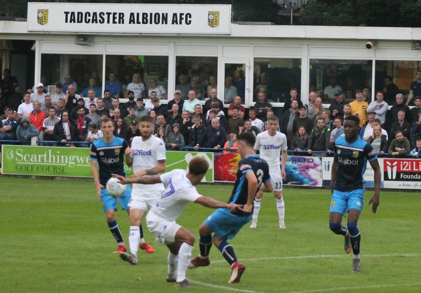 Tadcaster Albion 1 Leeds United 5 - News - Tadcaster Albion AFC