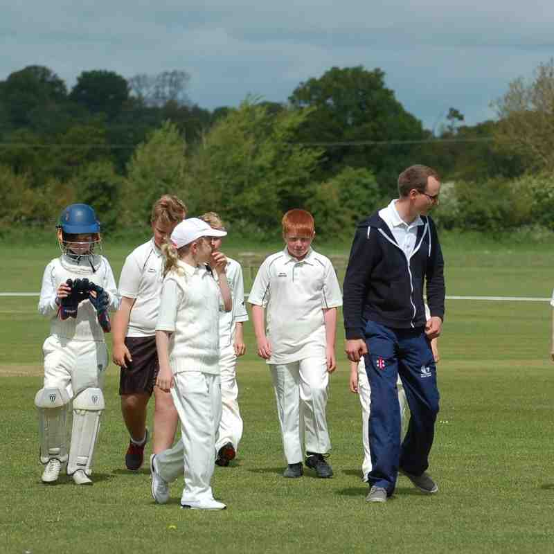 Cricklade U11's vs North Cotswolds Young Cricketeers May'15