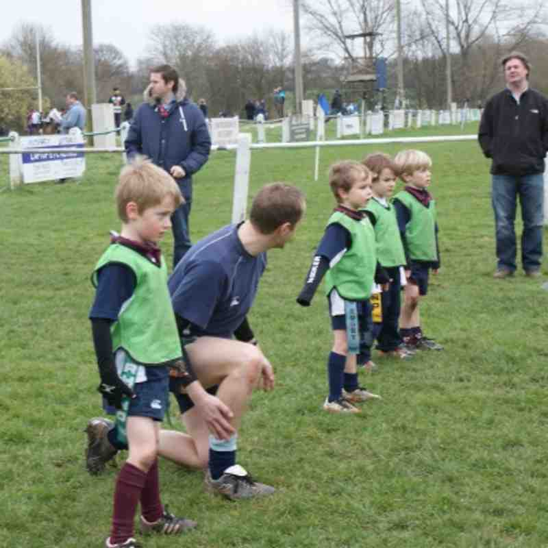 Wilmslow Wolves Under 6's Trg 11 March 2012