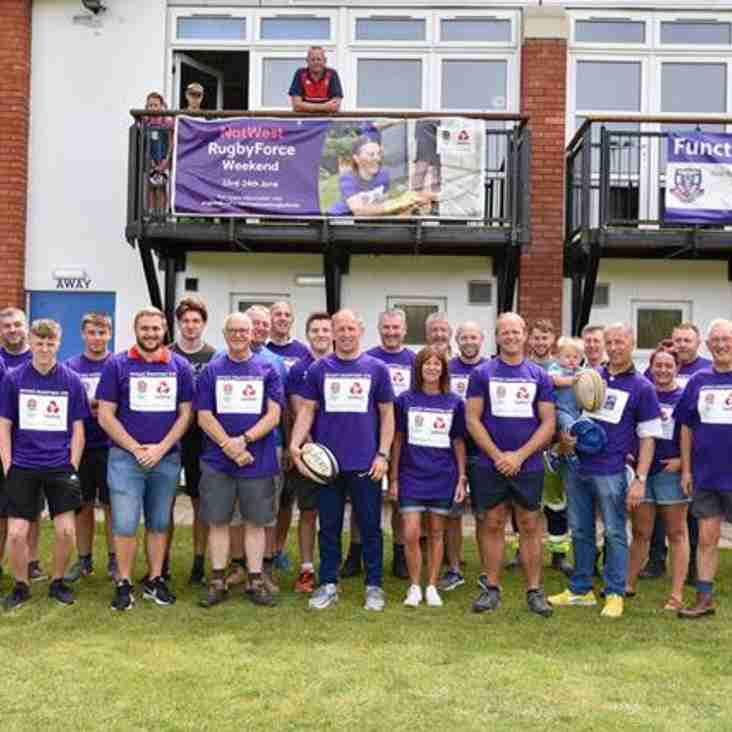 Nat West Groundforce Volunteers Required Sat 22nd & Sunday 23rd June
