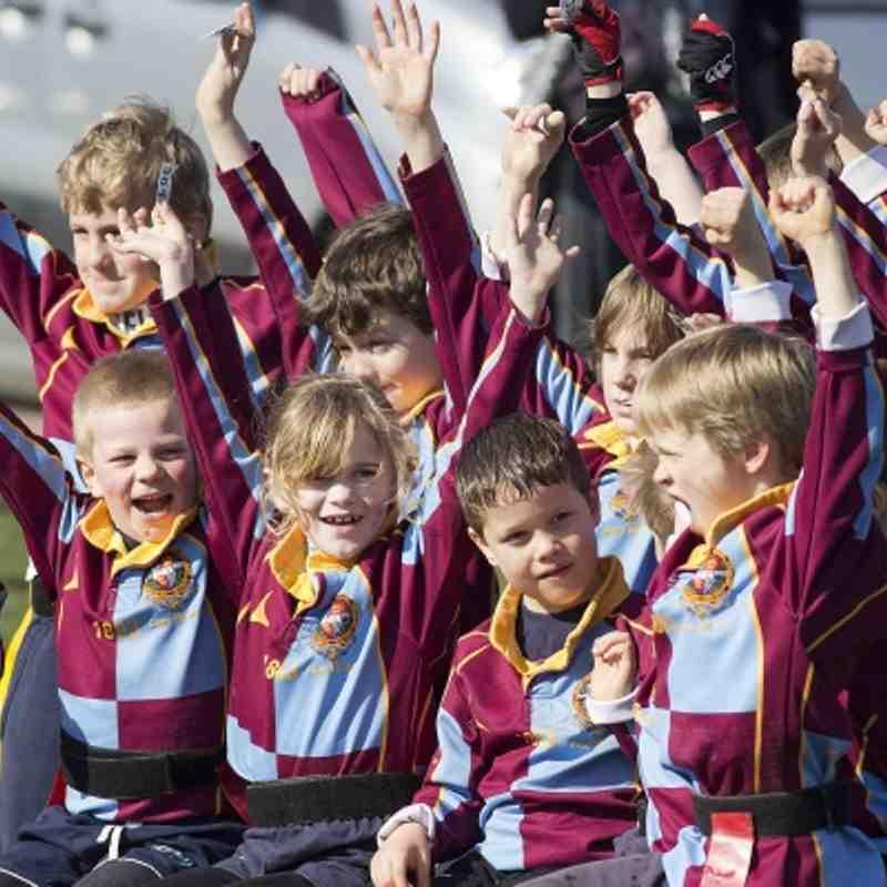 U8's v Old Saltleians 11th March 2012