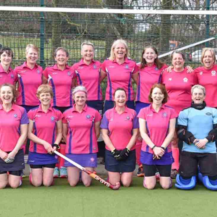 Over 45s reach the final of the cup!