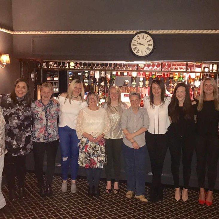 Ladies club dinner success<