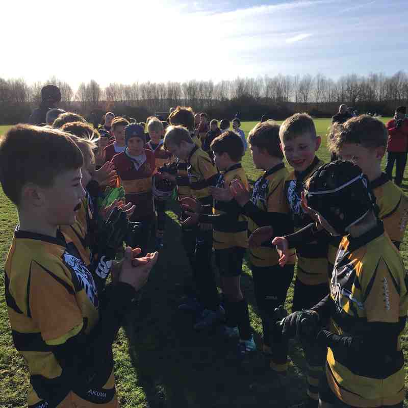 U12s vs Dartford Nov 2017