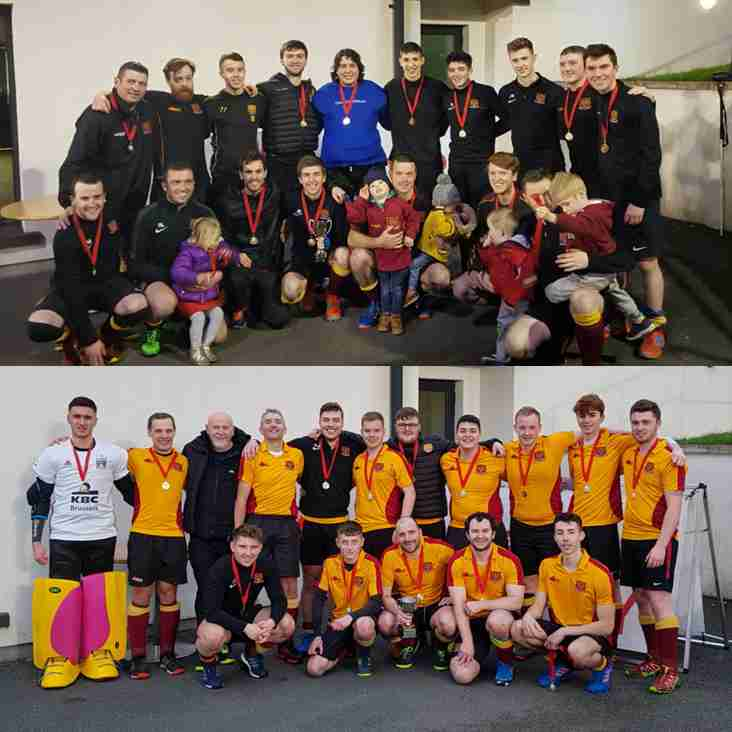 Double Cup Success for Mossley HC