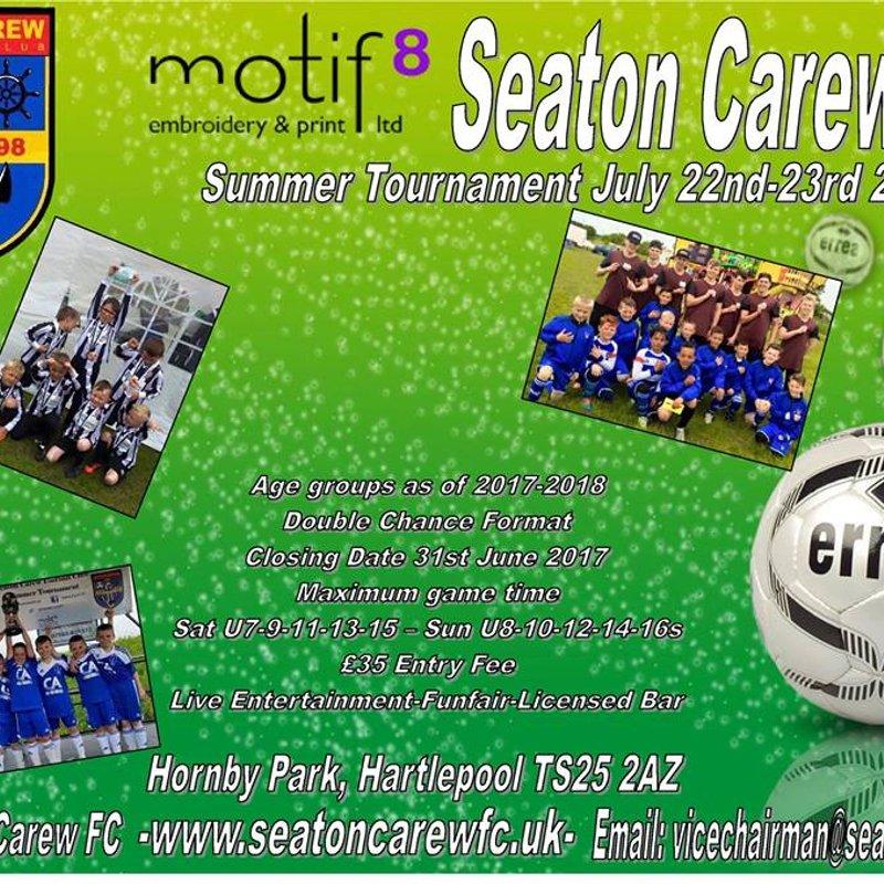 Seaton Carew FC Summer Tournament 2017