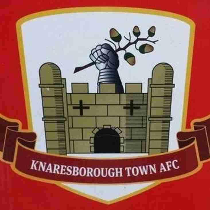 First Team vs Knaresborough Town (A) - Saturday 26th January