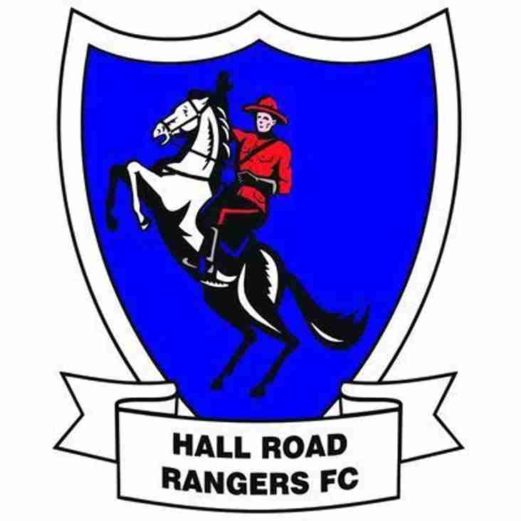 First Team vs Hall Road Rangers (A) - Saturday 16th February