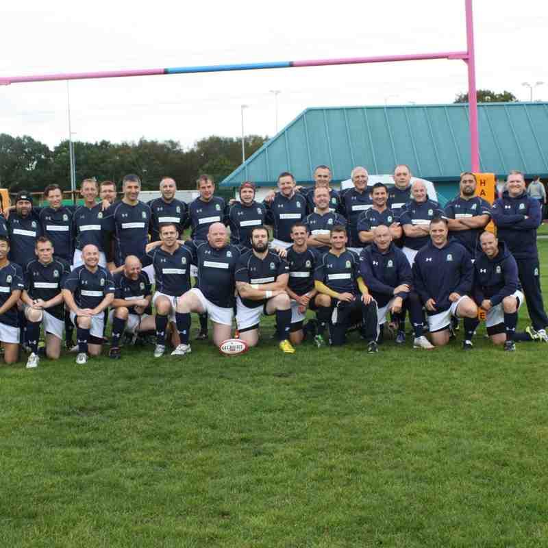 Oaks Old Boys #LegendsUnite Match 4th October 2014